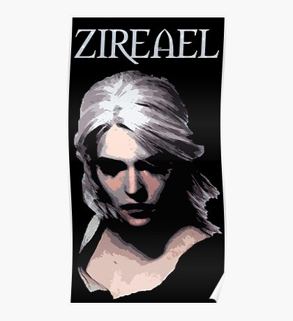 The Witcher - Ciri Zireael Poster