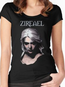 The Witcher - Ciri Zireael Women's Fitted Scoop T-Shirt