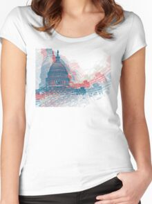 Capitol Crisis Women's Fitted Scoop T-Shirt