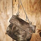 Old Leather Bag by shiro
