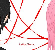 Just be Friends- Vocaloid Luka by Ivegotartitude
