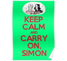 Carry On, Simon Poster