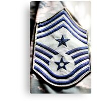 State Command Stripes Canvas Print