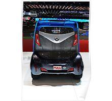 Fulu - Electric Car - Geneva Auto Salon 2014 Poster