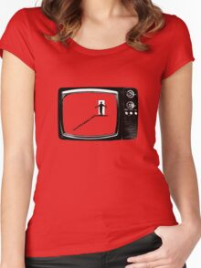 THE TRUMAN SHOW Women's Fitted Scoop T-Shirt