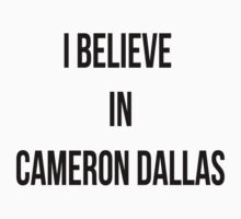 CAMERON DALLAS MERCH MAGCON by CharliesF