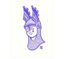Viking Queen Art Print