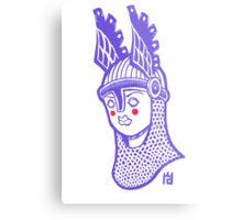 Viking Queen Metal Print