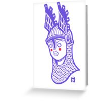 Viking Queen Greeting Card