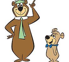 Yogi and teddy bear! by welovevintage