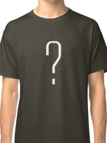 Question Mark - style 6 Classic T-Shirt