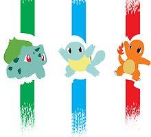 1st generation pokémon stripes by To0n