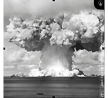 Baker Test atomic explosion Operation Crossroads (July 25 1946) Photographic Print