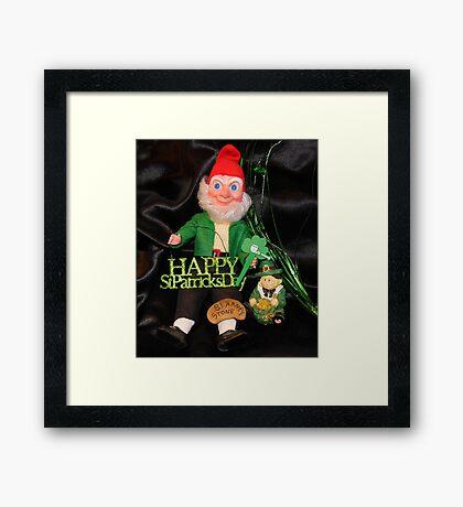 St. Patrick's Day Still Life Framed Print