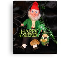 St. Patrick's Day Still Life Canvas Print