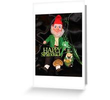 St. Patrick's Day Still Life Greeting Card