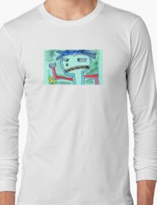 """Stick It to da Man"" by Richard F. Yates Long Sleeve T-Shirt"