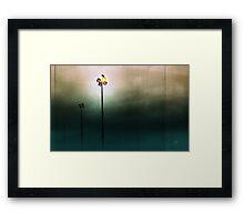 Raven Landscape Framed Print