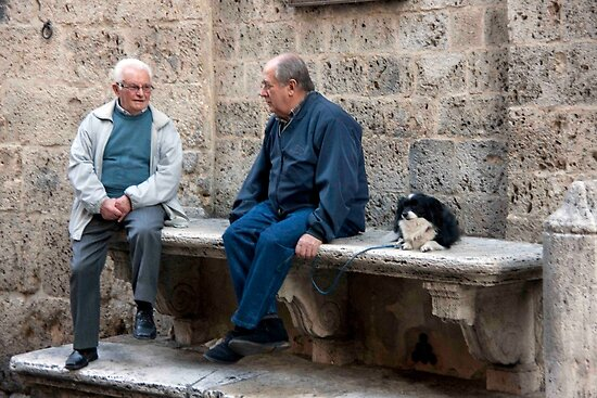 Amici di Piazza by phil decocco