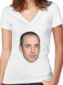 Sam Dingle Women's Fitted V-Neck T-Shirt