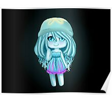 Jelly Fish Girl- Chibi Poster