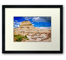 Badlands in Alberta, Canada Framed Print