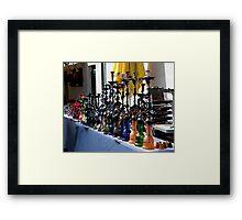 Hookah Sale Framed Print