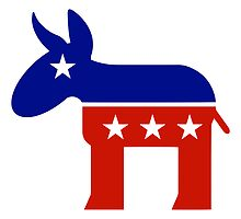 Democrat Donkey New by Democrat