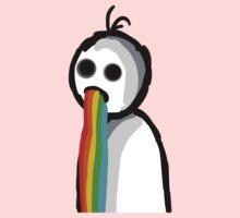Barfing Rainbows One Piece - Long Sleeve