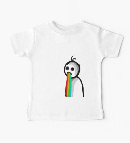 Barfing Rainbows Baby Tee