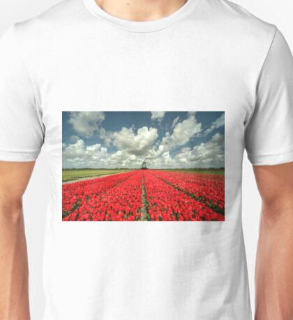Tulip Windmill  Unisex T-Shirt
