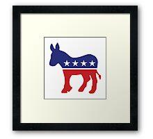 Democrat Original Donkey Framed Print