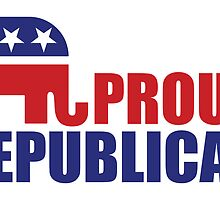 Proud Republican Elephant by Republican