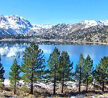 Beautiful June Lake by marilyn diaz
