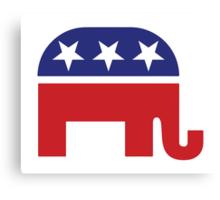 Republican Original Elephant Canvas Print
