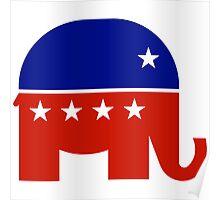 Republican Elephant New  Poster