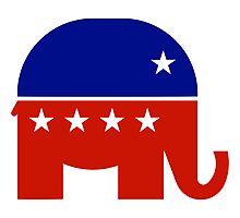 Republican Elephant New  Photographic Print
