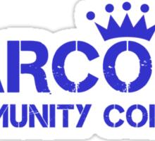 Carcosa Community College Blue Sticker