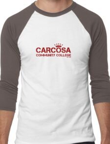Carcosa Community College Red Men's Baseball ¾ T-Shirt