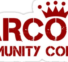Carcosa Community College Red Sticker