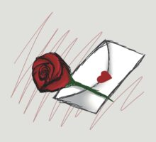 Red Rose -Love Letter by Ivegotartitude