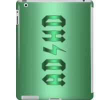 Funny Glossy Green Parody AD HD  iPad Case/Skin