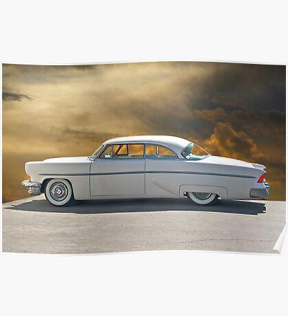 1954 Lincoln Capri Custom I Poster