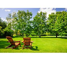 Summer relaxing Photographic Print