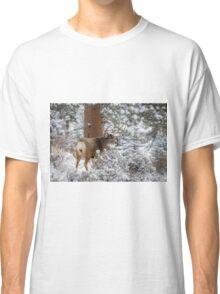 Snowy Buck Classic T-Shirt
