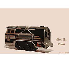 The tin train. Photographic Print