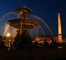 Paris fountain by bposs98