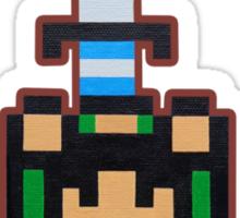 Legendary Handheld Hero Sticker