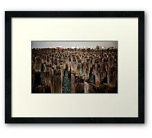 Port of Melbourne  Framed Print