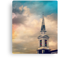 Mother Nature Goes to Church Canvas Print